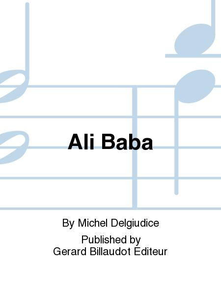 Sheet music: Ali Baba