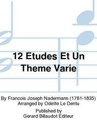 Francois Naderman  Sheet Music 12 Etudes et un Theme Varie Song Lyrics Guitar Tabs Piano Music Notes Songbook