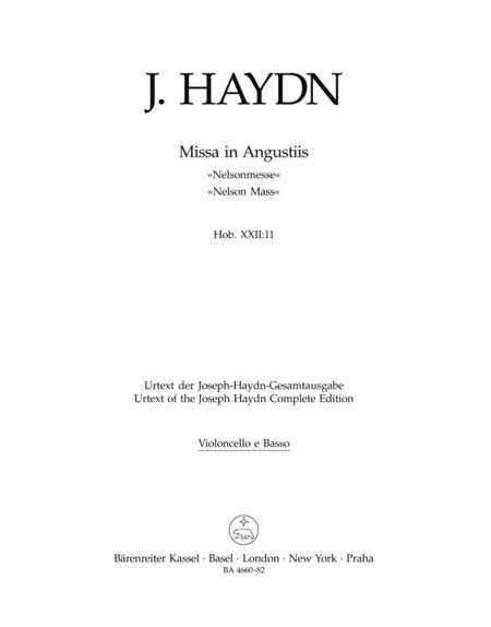 Missa in Angustiis Nelsonmesse Vocal score Hob.XXII:11