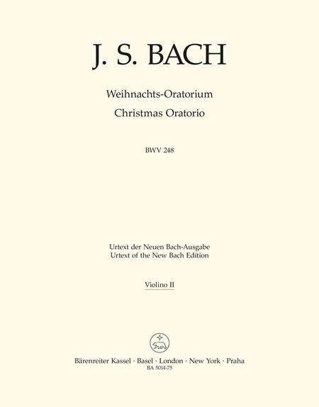 Sheet music: Christmas Oratorio (Violin)