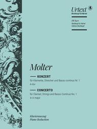 Klarinettenkonzert Nr. 1 A-dur sheet music