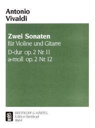 Sonaten D-dur/a-moll aus op.2