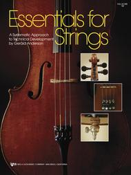 Essentials For Strings - Violin: Violin Sheet Music: Gerald E. Ande..