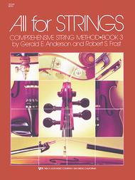 All For Strings Book 3-Violin: Violin Sheet Music