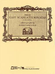 Domenico Scarlatti  Sheet Music 12 Easy Scarlatti Sonatas Song Lyrics Guitar Tabs Piano Music Notes Songbook