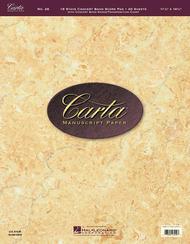 Carta Manuscript Paper No. 26 - Professional