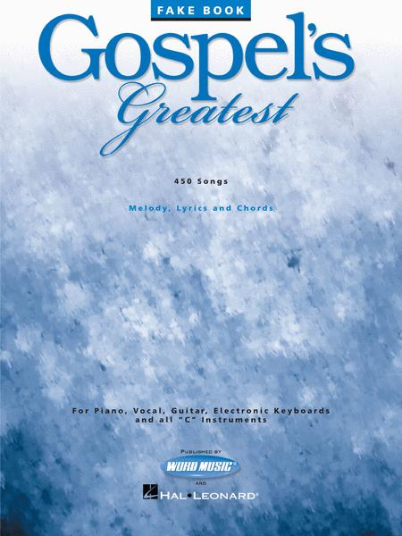 Gospels Greatest Sheet Music By Various Sheet Music Plus