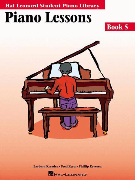 Sheet music: Piano Lessons Book 5 (Piano solo)