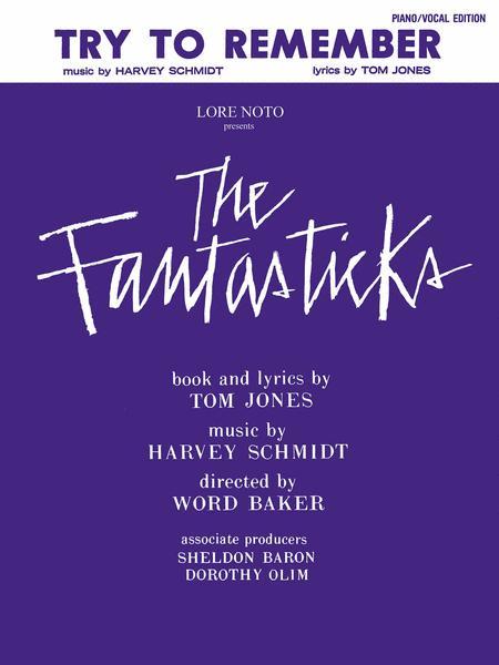 THE FANTASTICKS - THE FANTASTICKS ALBUM LYRICS