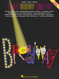 The Best Broadway Songs Ever by Various sheet music