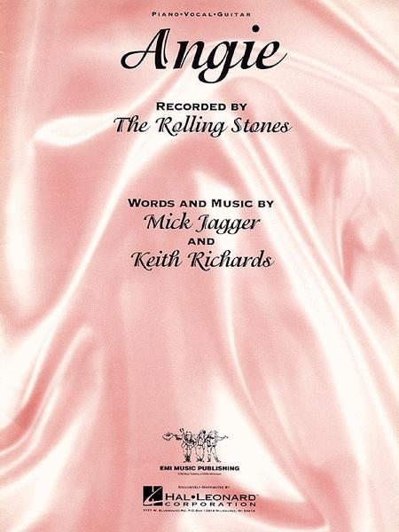 Angie Sheet Music By The Rolling Stones - Sheet Music Plus