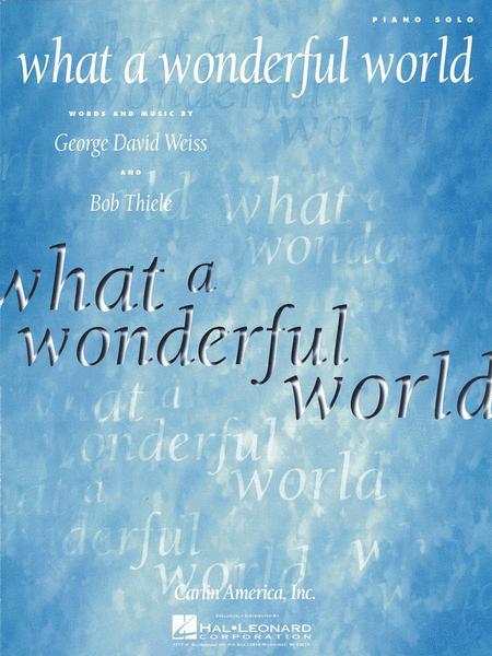 what a wonderful world piano pdf