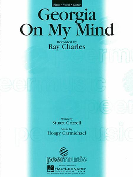 Sheet music: Ray Charles: Georgia On My Mind (Piano, Vocal and Guitar)