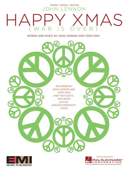 sheet music extract sheet music extract happy xmas war is over