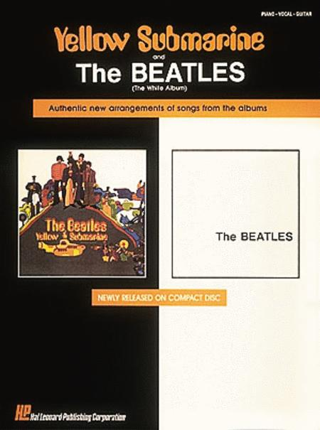 Yellow Submarine//The White Album PIANO PVG SHEET MUSIC BOOK The Beatles