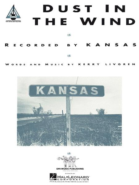 Dust In The Wind Sheet Music By Kansas Sheet Music Plus