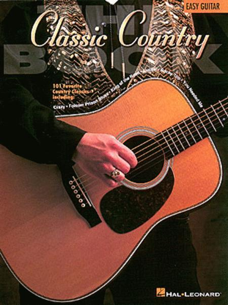 The Classic Country Book - Easy Guitar Sheet Music By Various ...