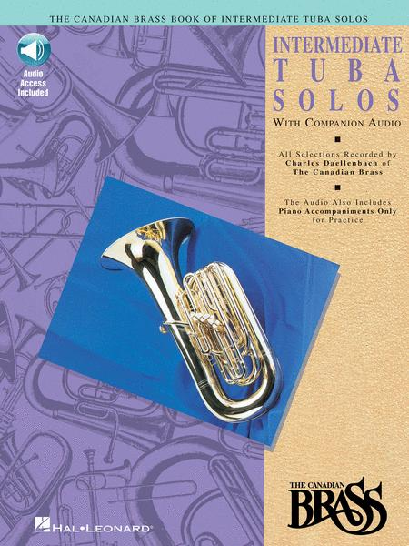 Canadian Brass Book of Intermediate Tuba Solos (Piano / Tuba)