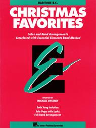 Christmas Favorites - Baritone B.C. sheet music