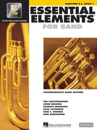 Essential Elements for Band - Baritone B.C. Book 1 with EEi sheet music