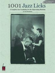 Jack Shneidman  Sheet Music 1001 Jazz Licks Song Lyrics Guitar Tabs Piano Music Notes Songbook