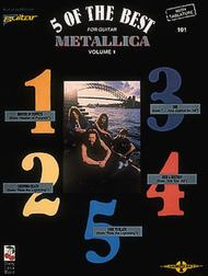 5 Of The Best For Guitar - Metallica, Volume 1