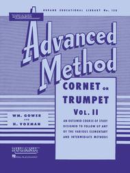 Rubank Advanced Method - Cornet or Trumpet, Vol. 2 sheet music