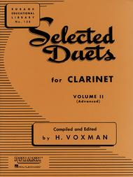 Selected Duets - Clarinet (Volume 2) sheet music