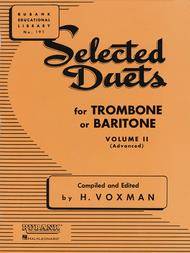 Selected Duets - Trombone Or Baritone (Volume 2) sheet music