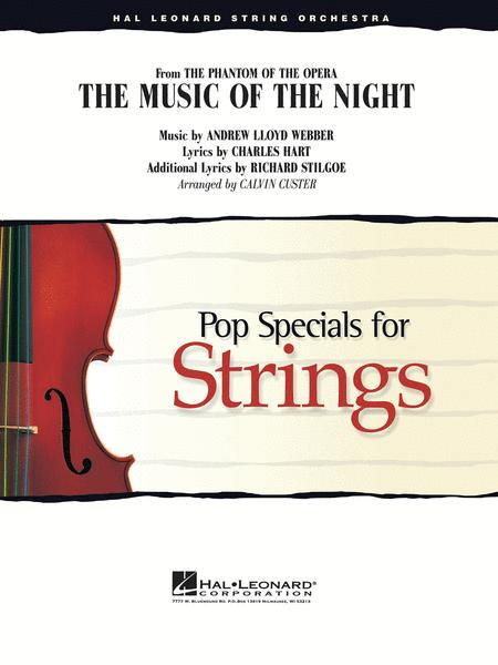 Sheet music: The Music Of The Night (Violin Solo With String