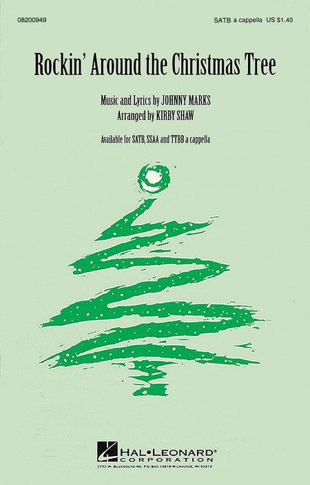 5% off - Sheet Music: Rockin' Around The Christmas Tree (SATB A Cappella)