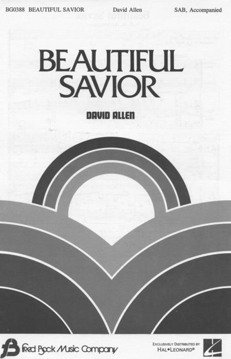 Sheet Music Beautiful Savior Sab