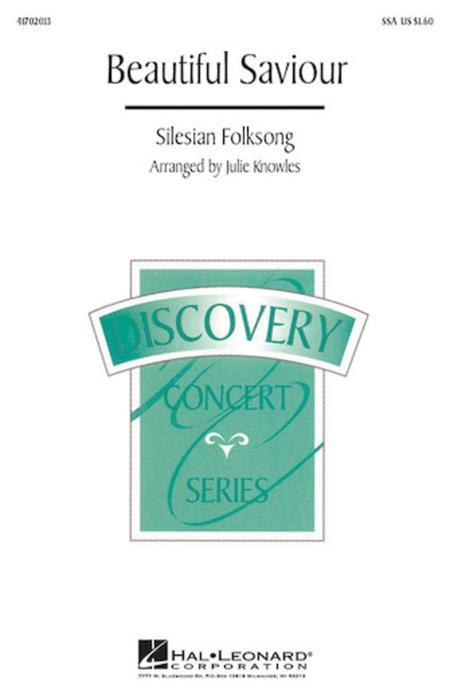 Sheet Music Beautiful Savior Ssa