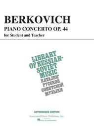 Piano Concerto, Op. 44 (for student & teacher) sheet music