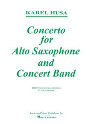Concerto For Alto Saxophone And Concert Band