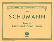 R. Schumann  Sheet Music 12 Pieces for Large and Small Children, Op. 85 Song Lyrics Guitar Tabs Piano Music Notes Songbook