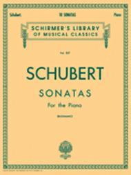Franz Schubert  Sheet Music 10 Sonatas Song Lyrics Guitar Tabs Piano Music Notes Songbook