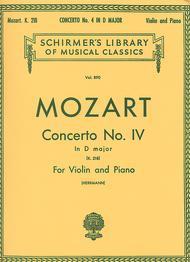 Concerto No. 4 In D Major, K. 218