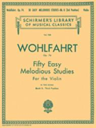50 Easy Melodious Studies, Op. 74 - Book 2