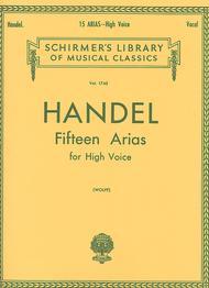 George Frideric Handel  Sheet Music 15 Arias Song Lyrics Guitar Tabs Piano Music Notes Songbook