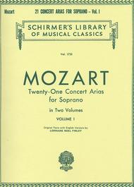 21 Concert Arias For Soprano - Volume I