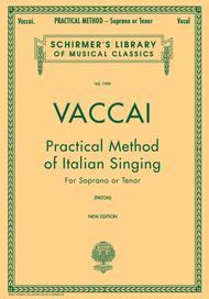 Practical Method Of Italian Singing - For Soprano Or Tenor