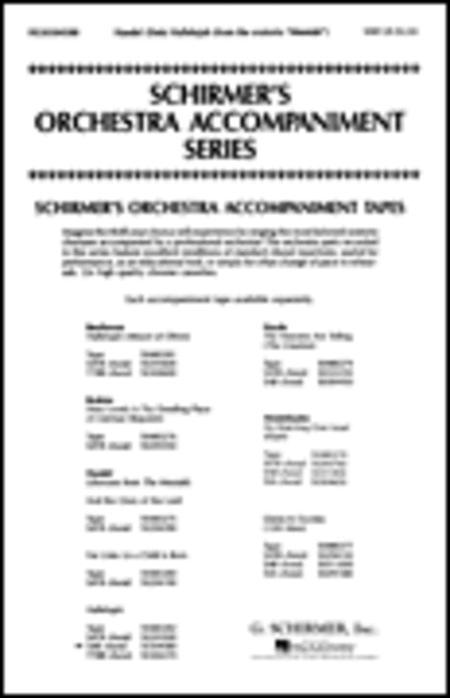 Sheet Music Hallelujah Chorus From The Messiah Sab