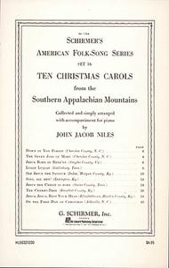 John Jacob Niles