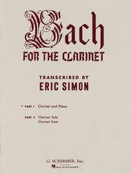 Bach For The Clarinet - Part 1