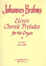 Johannes Brahms  Sheet Music 11 Chorale Preludes Song Lyrics Guitar Tabs Piano Music Notes Songbook