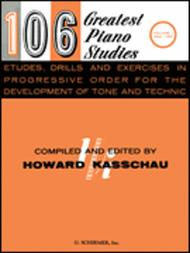 Various  Sheet Music 106 Greatest Piano Etudes, Drills and Exercises - Volume 1 Song Lyrics Guitar Tabs Piano Music Notes Songbook
