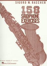 Sigurd Rascher  Sheet Music 158 Saxophone Exercises - Alto Saxophone Song Lyrics Guitar Tabs Piano Music Notes Songbook