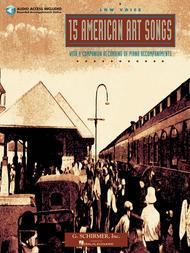 Various  Sheet Music 15 American Art Songs Song Lyrics Guitar Tabs Piano Music Notes Songbook