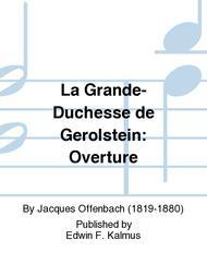 La Grande-Duchesse de Gerolstein: Overture sheet music